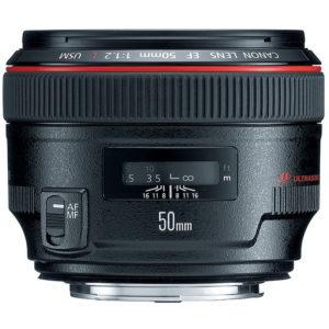 Canon 50mm f:1.2L
