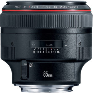 Canon 85mm f:1.2